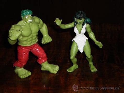 la masa hulk y su novia hulka - marvel super he - Comprar ...