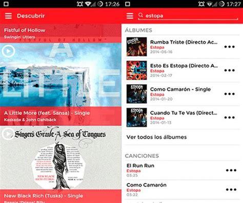 La mejor aplicacion para descargar musica gratis