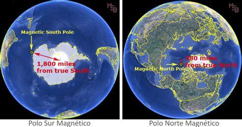 La migración del Polo Norte Magnético del planeta se ...