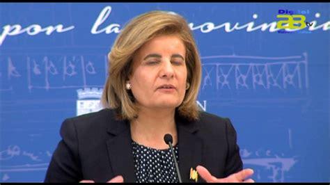 La ministra de Empleo visita hoy Almería - YouTube