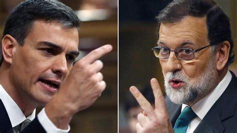 La Moción de censura a Rajoy, últimas noticias