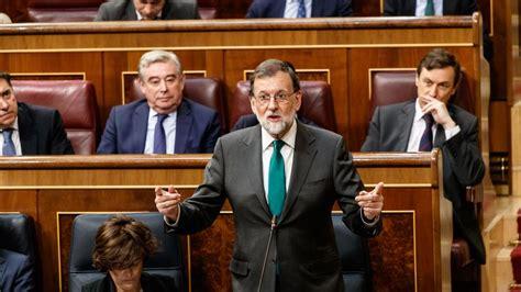 La moción de censura contra Mariano Rajoy, en directo