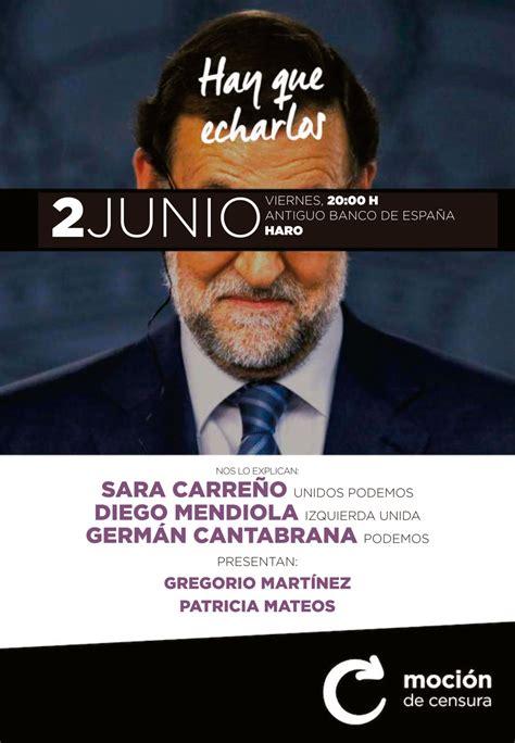 La moción de censura contra Rajoy se explicará este ...