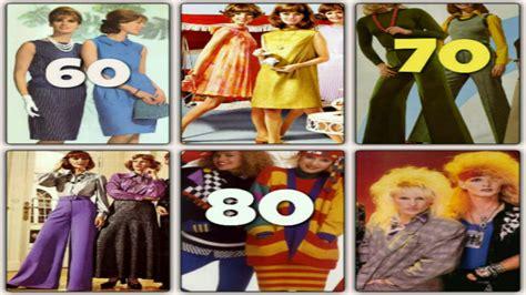 La Moda en los Años 60, 70, 80. Cuales Eran estas Modas ...