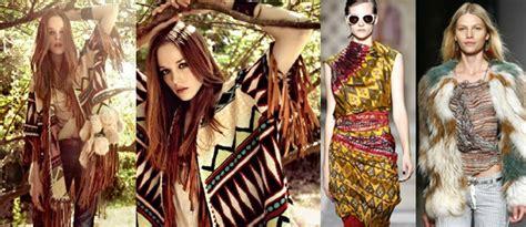 La moda étnica incorpora al diseño motivos tribales e ...