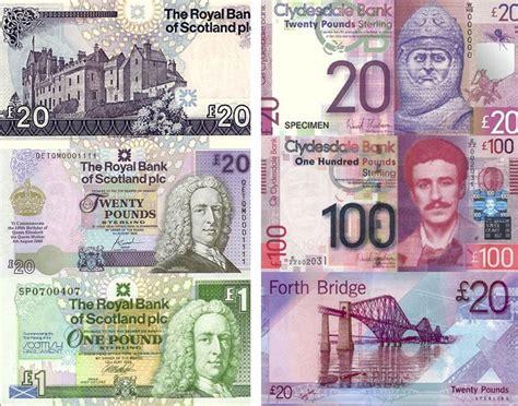 La moneda de Escocia y los billetes escoceses