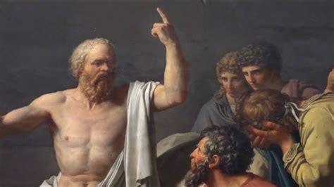 La muerte de Sócrates de Jacques-Louis David (1786) - YouTube