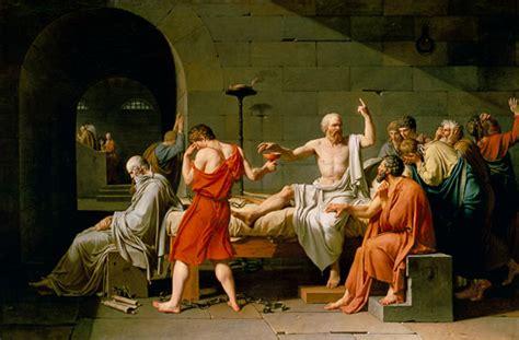 La muerte de Sócrates - Jacques Louis David
