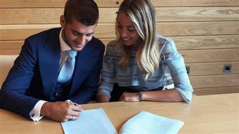 La mujer de Morata le respalda en su llegada al Chelsea ...