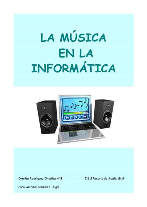 La música en la informática