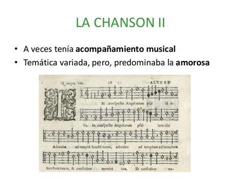 La música profana del renacimiento