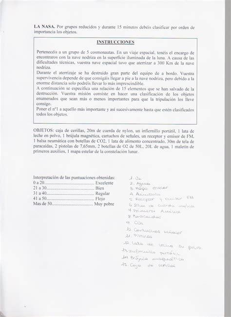 La Nasa   Juegos de Pensar   Juegos y Actividad Física ...