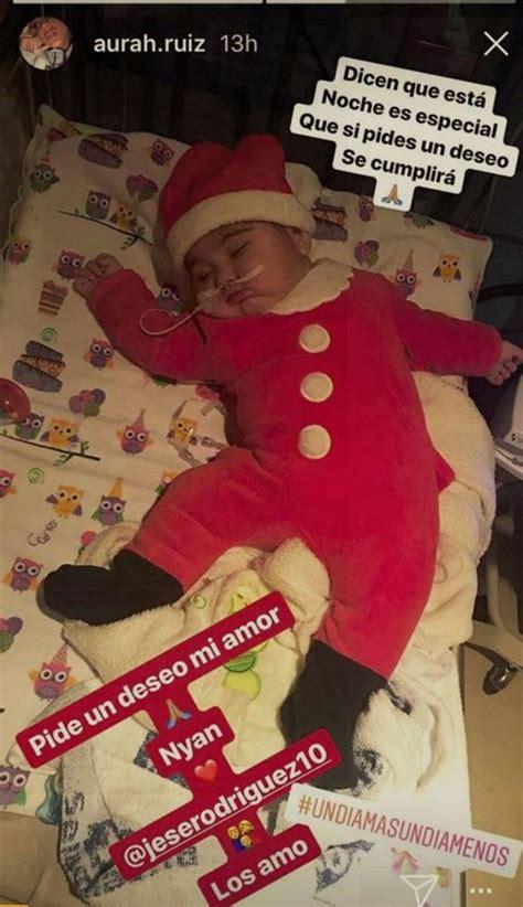 La navidad más difícil de Aurah Ruiz, novia de Jesé