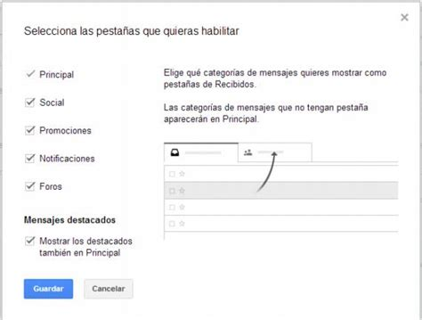 La nueva bandeja de entrada de Gmail | Recursos Gratis en ...