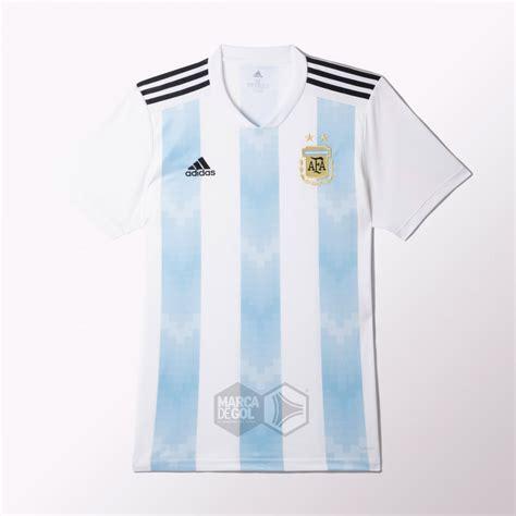 ¿La nueva camiseta de la Selección Argentina para Rusia ...