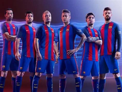 ¡La nueva camiseta del FC Barcelona 2016 2017!