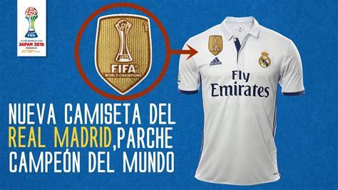 La Nueva Camiseta del Real Madrid 2017 con el escudo de ...