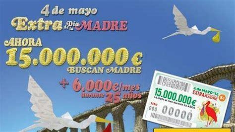 La ONCE reparte este domingo 15 millones de euros en el ...