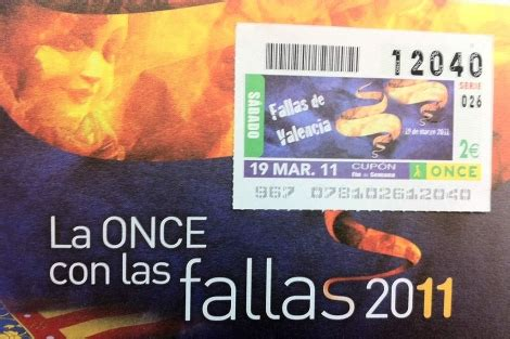 La ONCE también celebra las Fallas   Valencia   elmundo.es