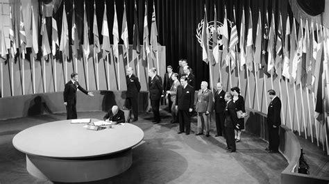 La Organización de las Naciones Unidas se creó el 24 de ...
