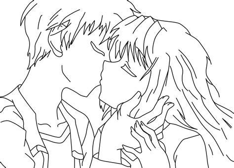 La Pagina Para Colorear De Anime Anime Para By Dibujos ...