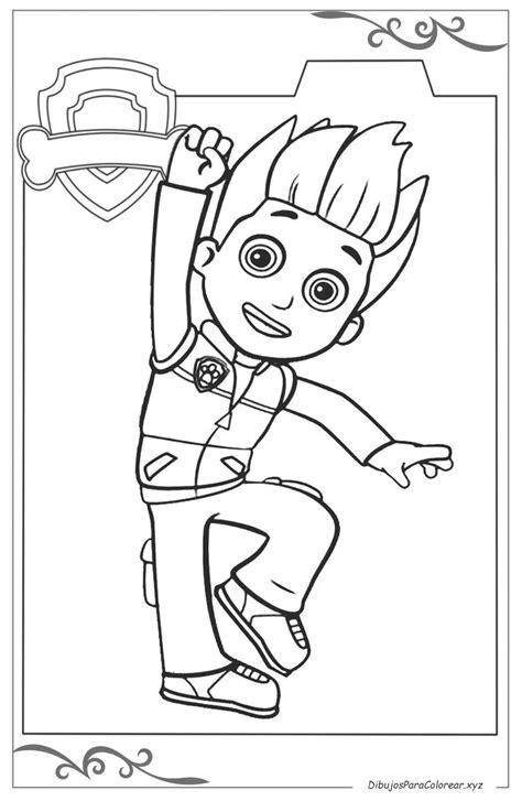 La Patrulla Canina dibujos para niños gratis para imprimir ...