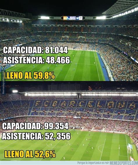 La paupérrima asistencia a los dos estadios más grandes de ...