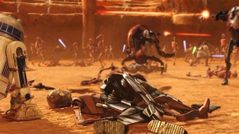 La película La guerra de las galaxias. Episodio II: El ...