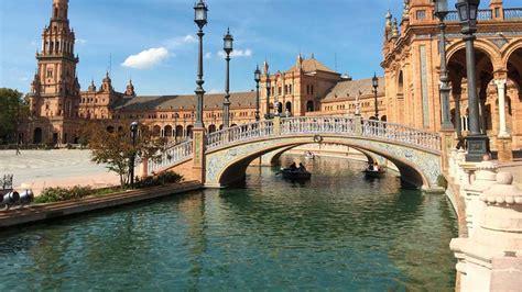 La Plaza de España de Sevilla, Tesoro de la Cultura   RTVE.es
