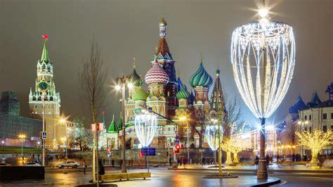 La plaza Roja de Moscú ya respira el ambiente navideño