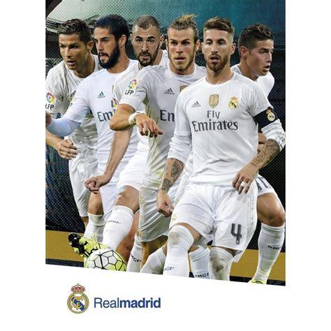 La postal Real Madrid Jugadores 2015/2016 con licencia ...