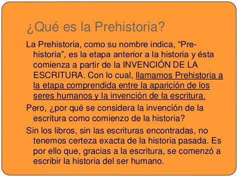 La prehistoria. 5 primaria