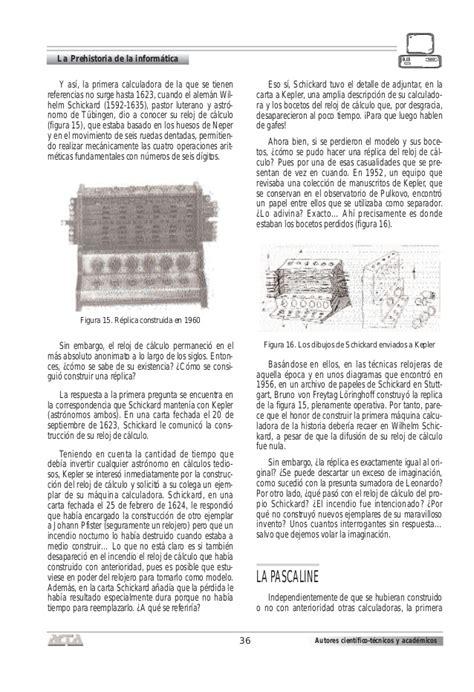 La prehistoria de la informatica
