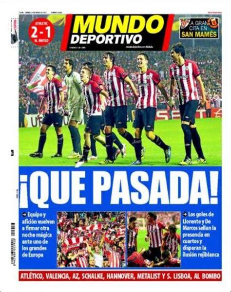La prensa se vuelve a rendir al Athletic - Blog de Bori