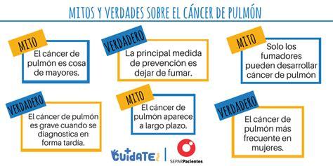 La prevención, clave contra el cáncer de pulmón