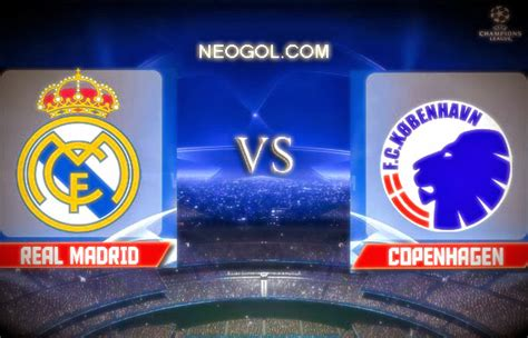 La previa Real Madrid Copenhague Champions League   Liga ...