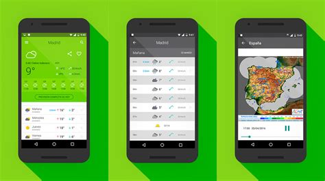 La previsión meteorológica en tu móvil con El Tiempo 14 días