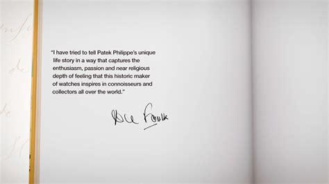 La primera biografía autorizada de Patek Philippe | Horas ...