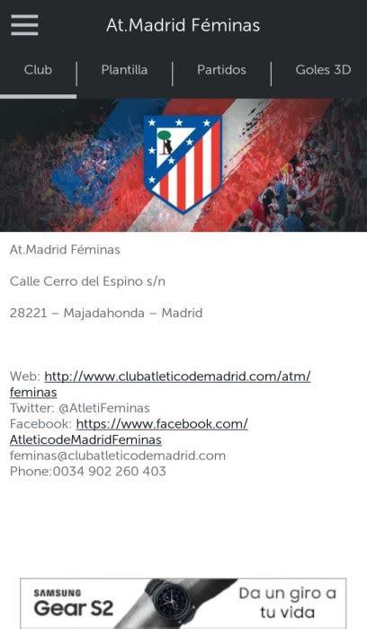 La Primera División Femenina, disponible en la App de ...