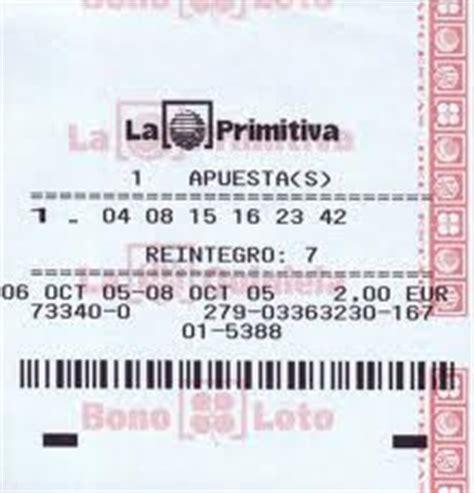 La Primitiva del jueves y del sábado - Lotería Chapi