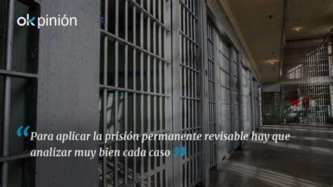La prisión permanente revisable a debate