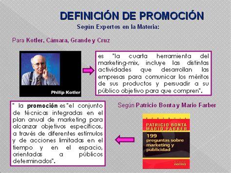 La promoción   Monografias.com