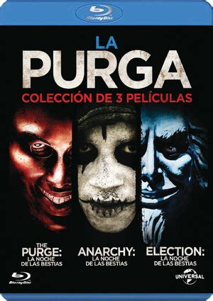 LA PURGA (PACK 3 PELÍCULAS) (BLU-RAY) de James Demonaco ...
