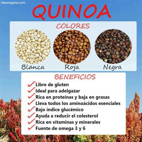 La quinoa: qué es, propriedades y beneficios de este ...
