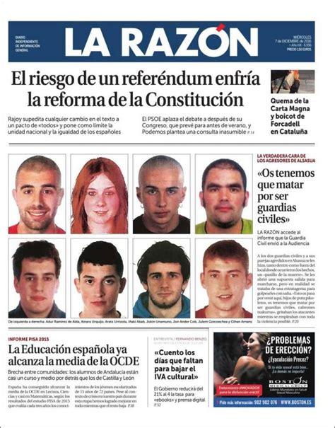 La Razon (07/12/2016) - La Prensa Diaria