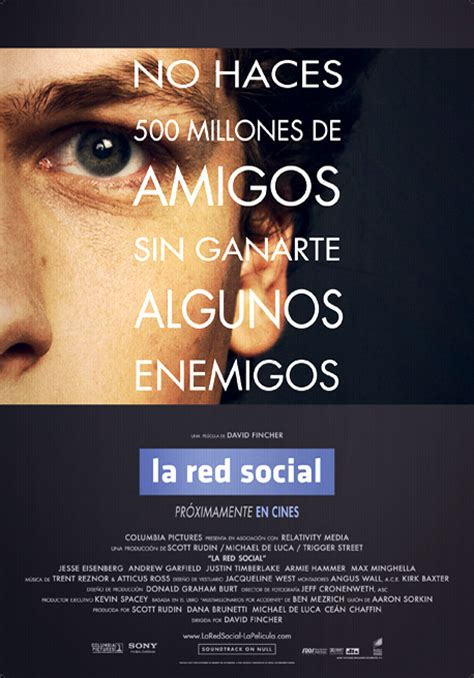 La red social  David Fincher, 2010    LaButaca.net