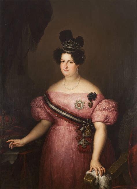 La Regente María Cristina de Borbón by Jose Gutierrez de ...