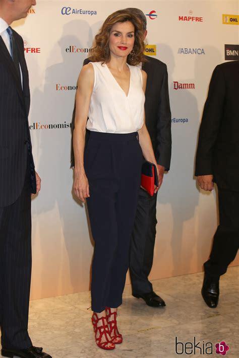 La Reina Letizia en el X aniversario de El Economista   La ...