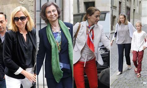 La Reina Sofía apoya a la Infanta Cristina en su triste ...