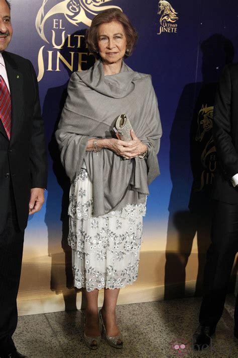 La Reina Sofía en el estreno del musical 'El último jinete ...